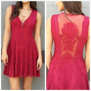 Free People | Reign Over Me Lace Dress  | Size 4